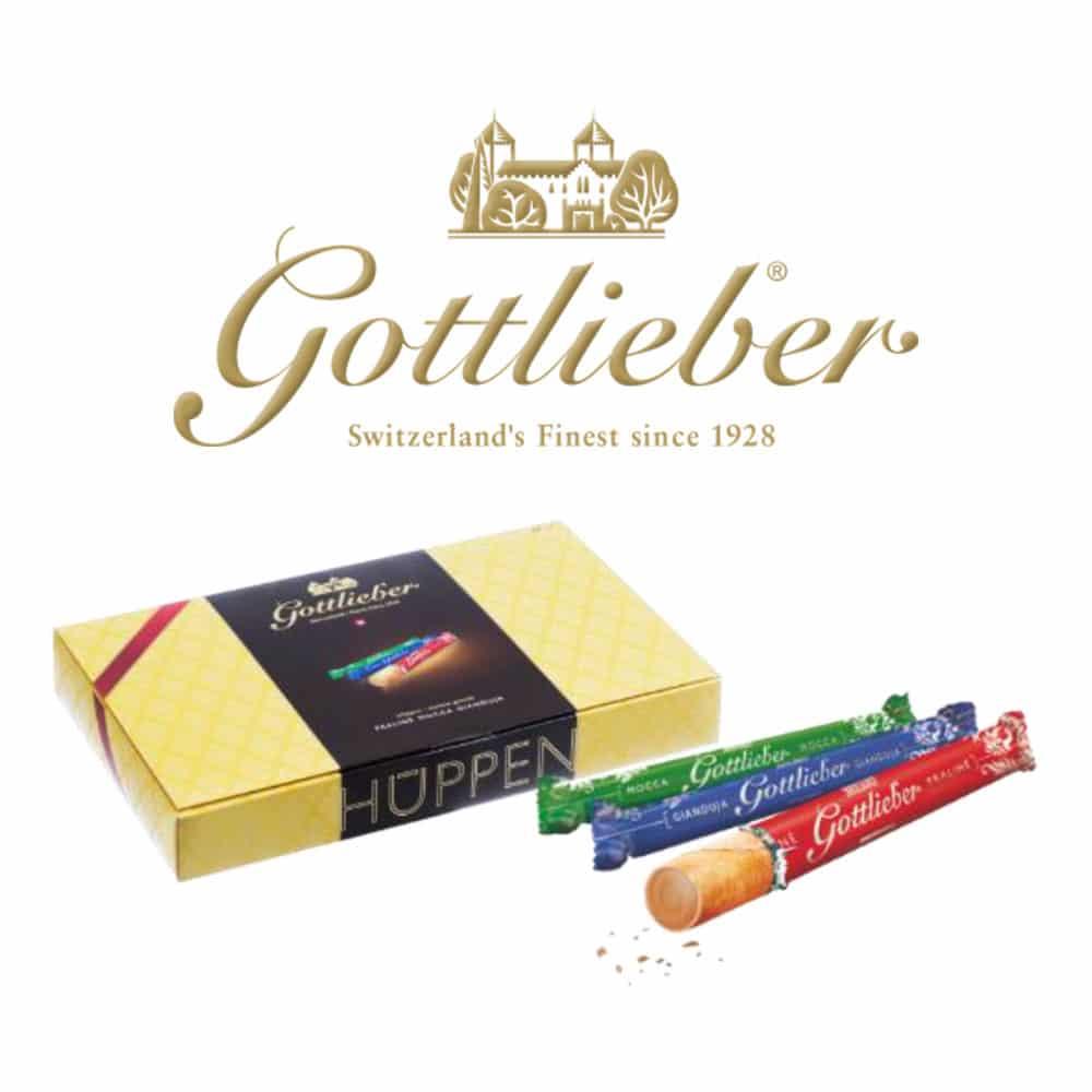 Süßigkeiten Gottlieber Hüppen aus der Schweiz